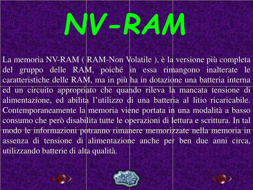 NV-RAM
