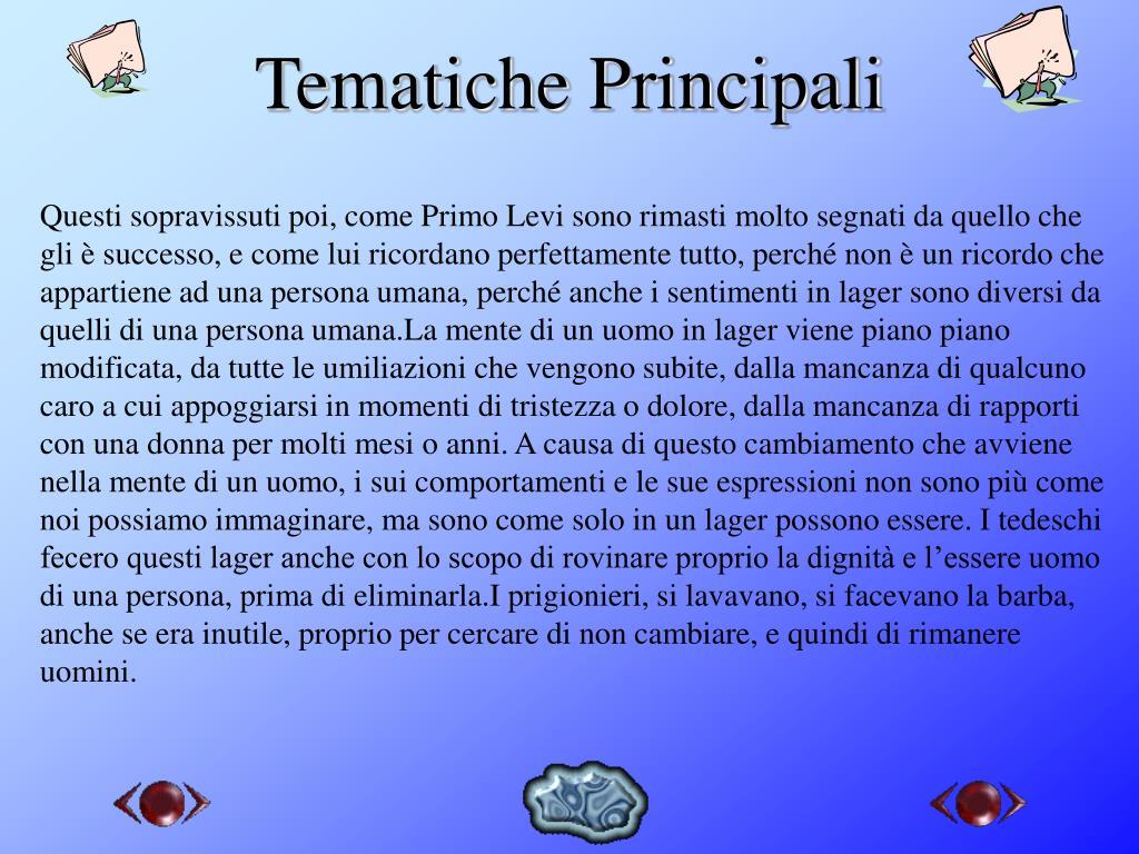 Tematiche Principali
