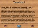 termistori