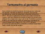 termometro al germanio