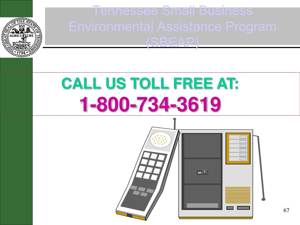 Tennessee Small Business Environmental Assistance Program (SBEAP)