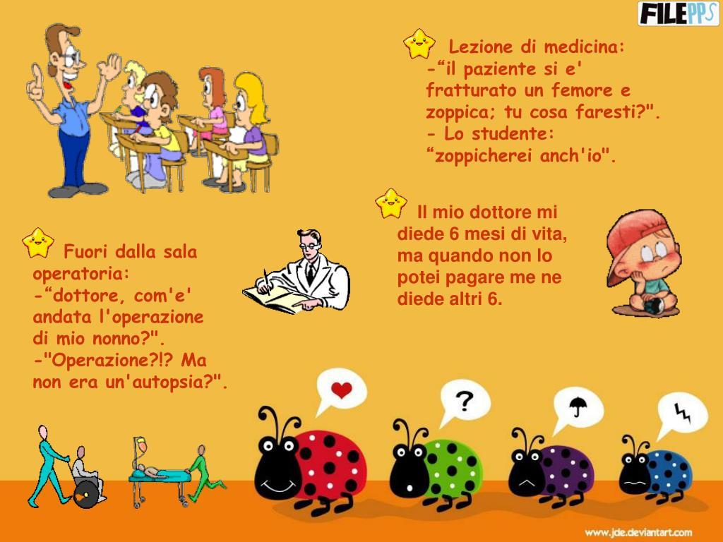 Lezione di medicina: