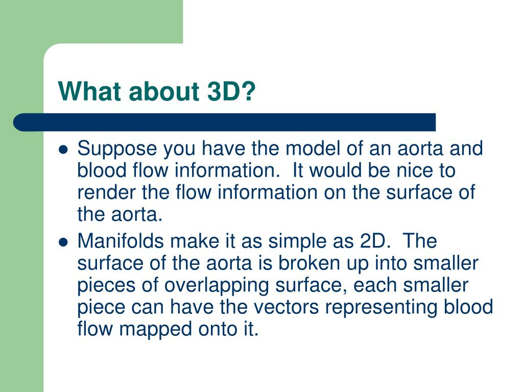 What about 3D?