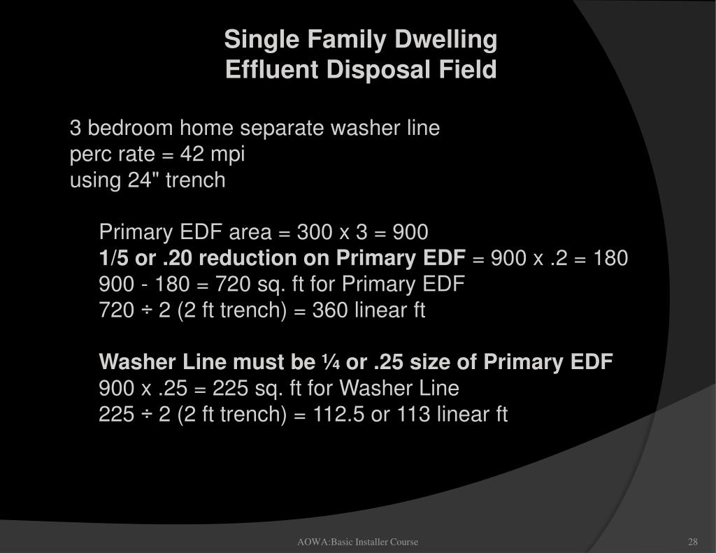 3 bedroom home separate washer line