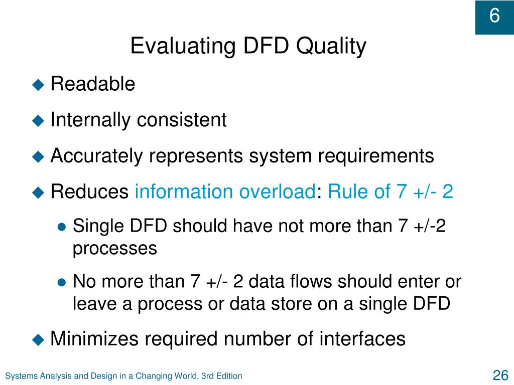 Evaluating DFD Quality