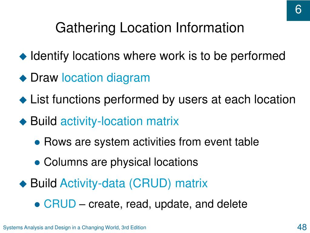 Gathering Location Information