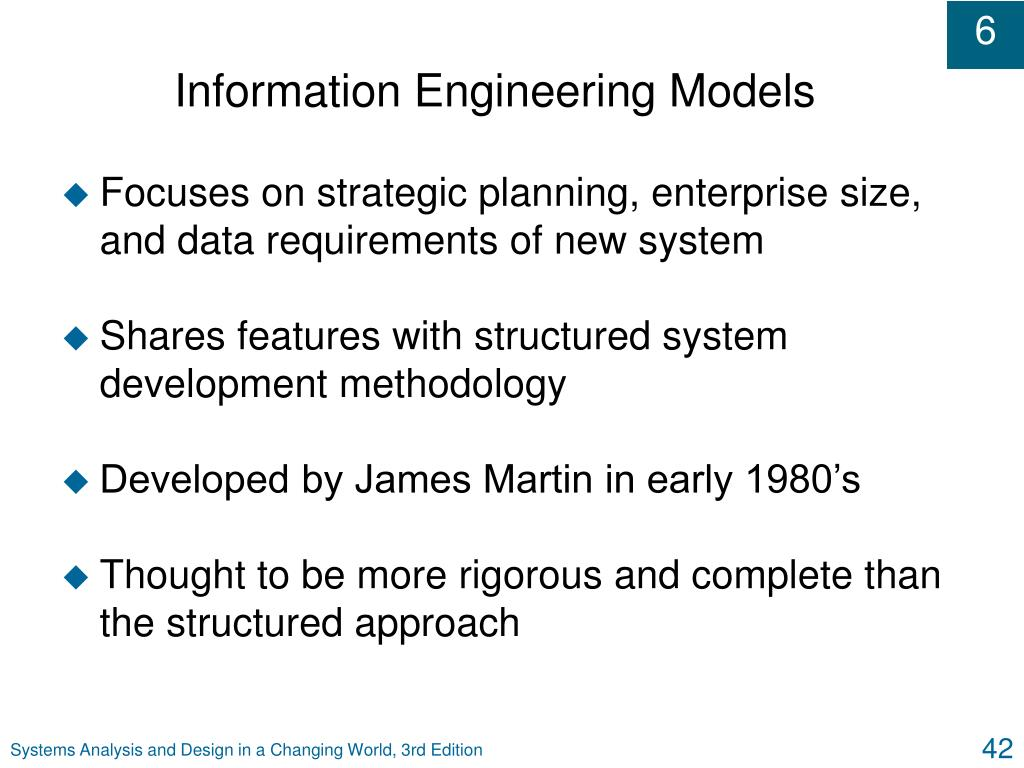 Information Engineering Models