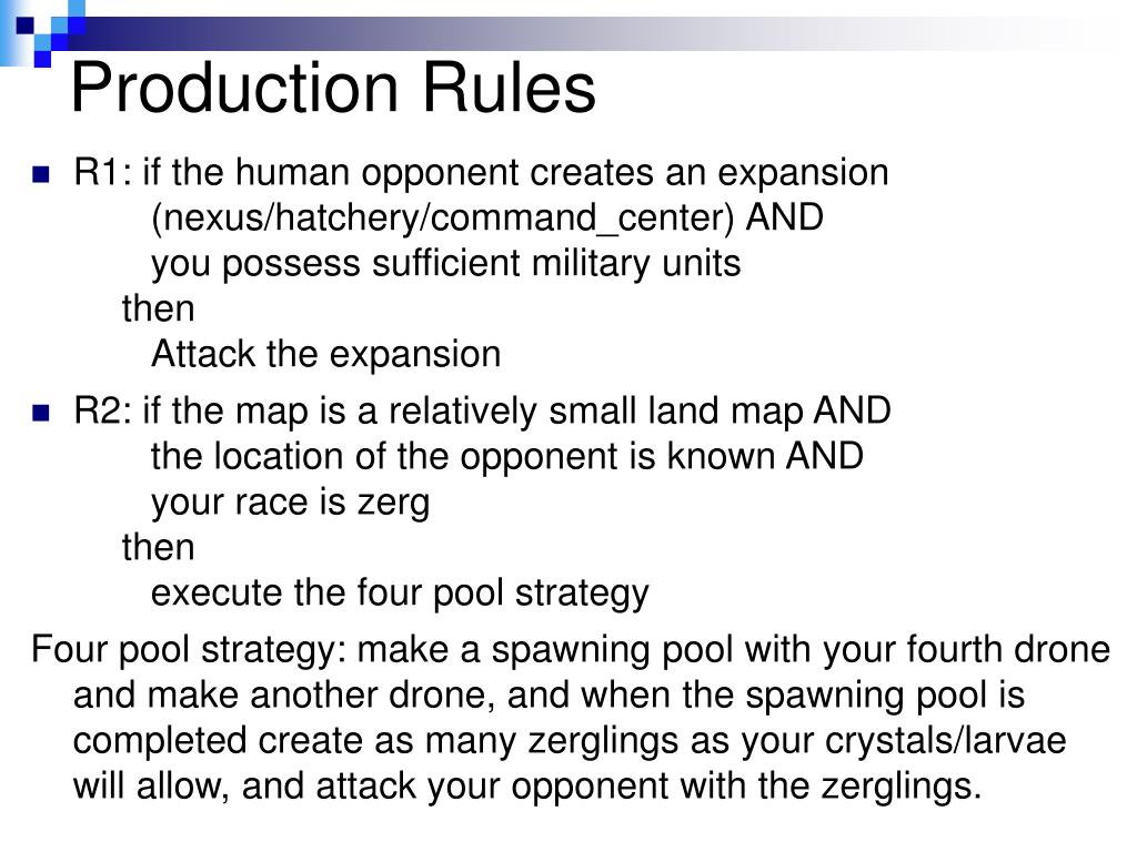 Production Rules