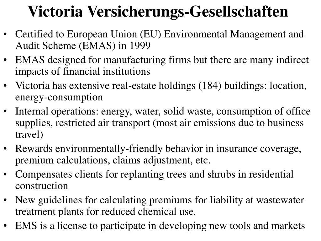 Victoria Versicherungs-Gesellschaften
