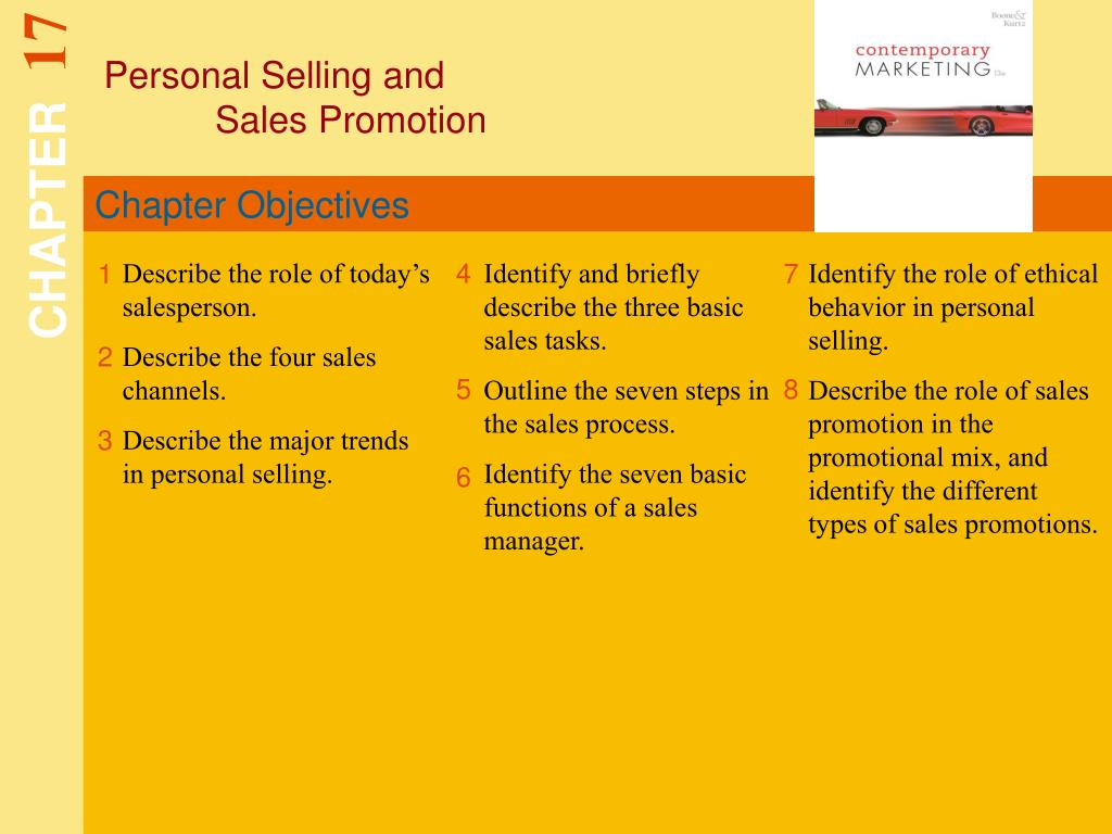 Personal Selling and
