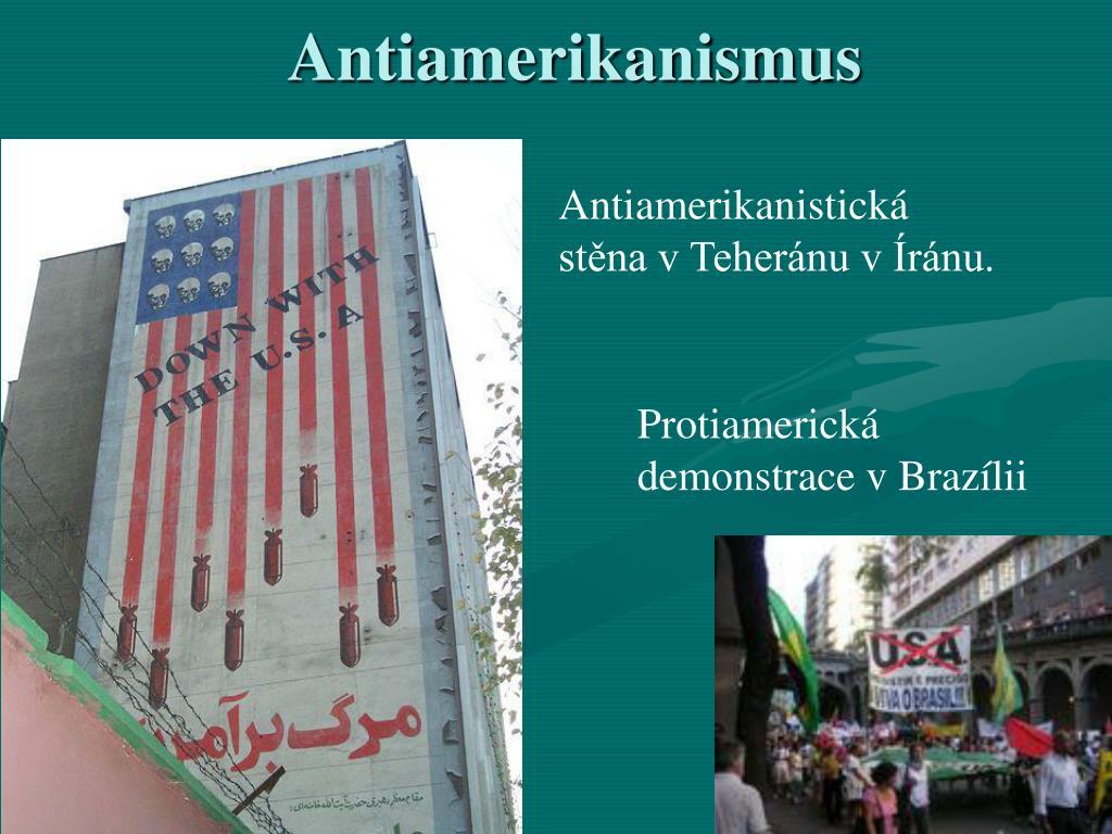 Antiamerikanismus