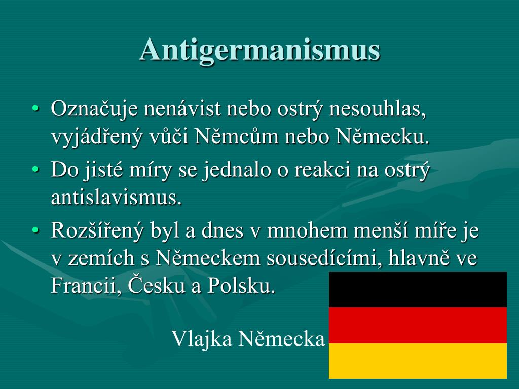 Antigermanismus