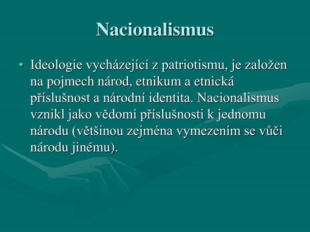 Nacionalismus