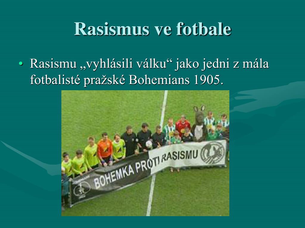 Rasismus ve fotbale
