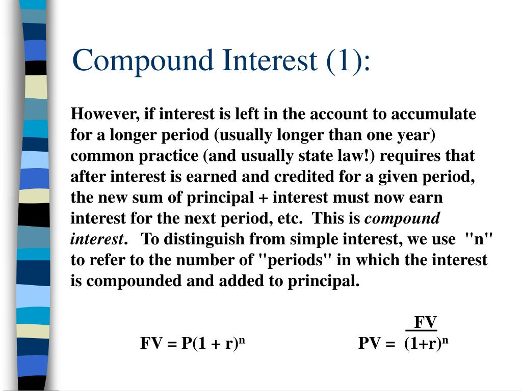 Compound Interest (1):
