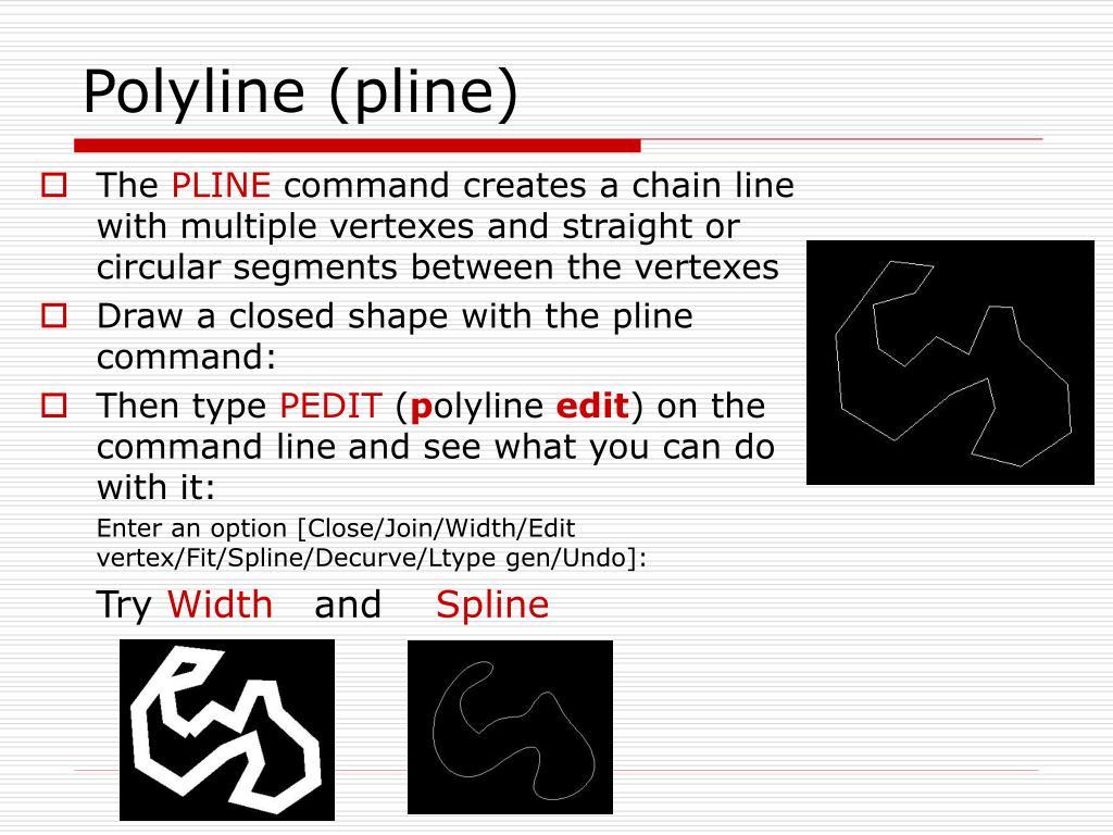 Polyline (pline)