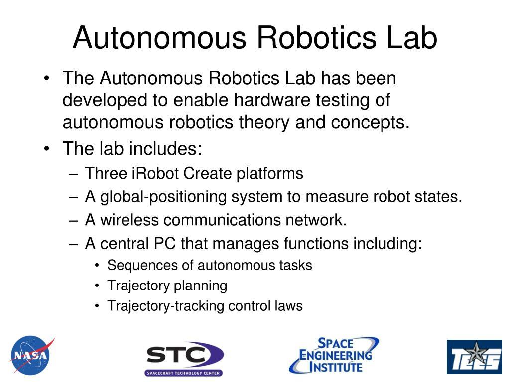 Autonomous Robotics Lab