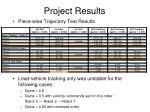 project results25
