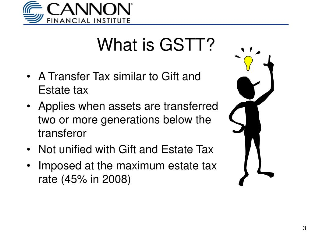 What is GSTT?