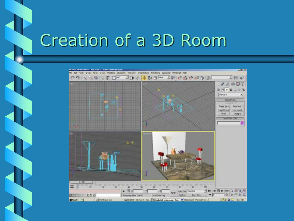 Creation of a 3D Room