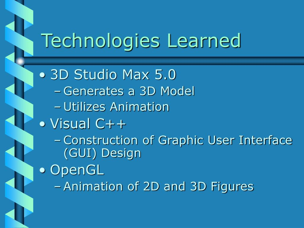 Technologies Learned