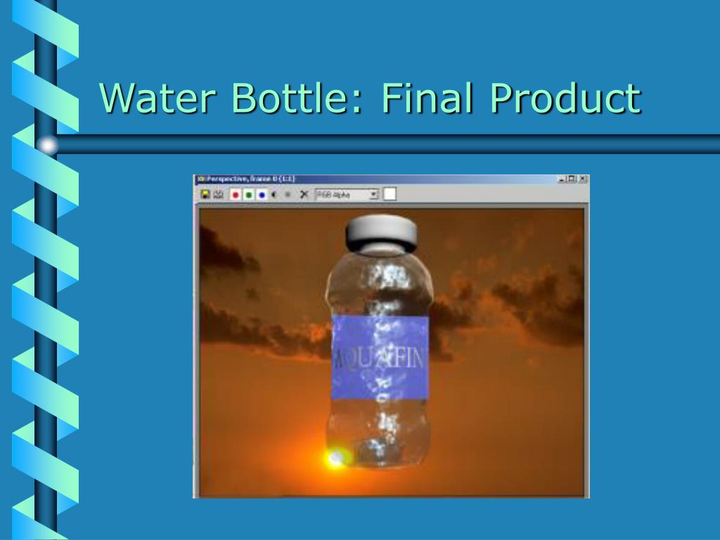 Water Bottle: Final Product