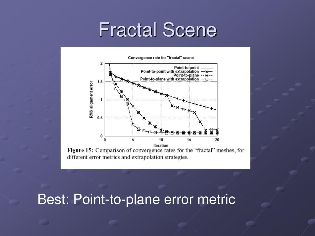 Fractal Scene