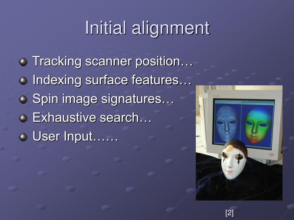 Initial alignment