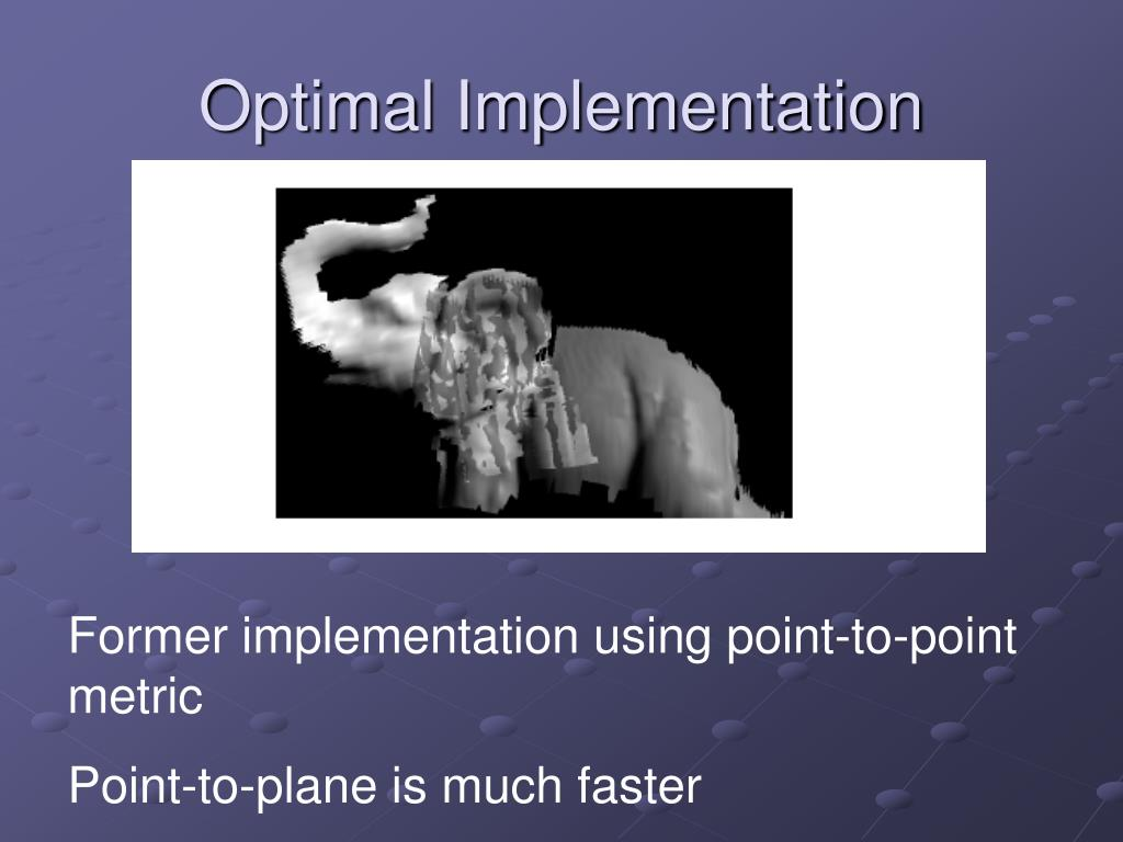 Optimal Implementation