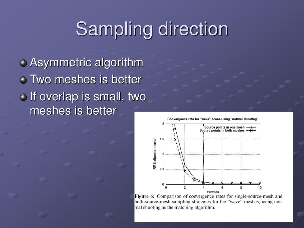 Asymmetric algorithm