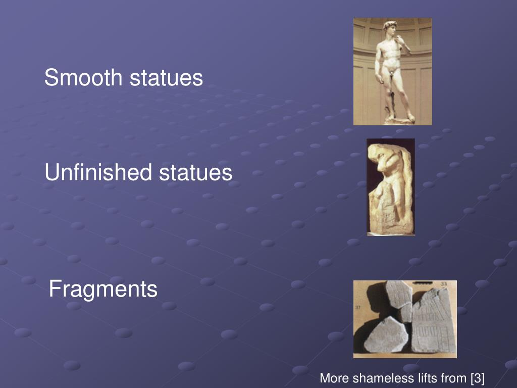 Smooth statues