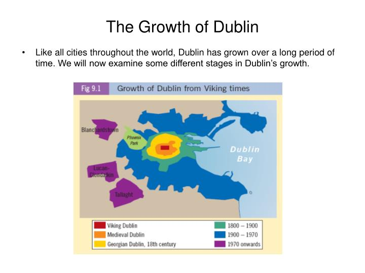 The growth of dublin l.jpg