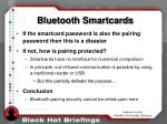 bluetooth smartcards
