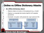 online vs offline dictionary attacks6