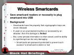 wireless smartcards