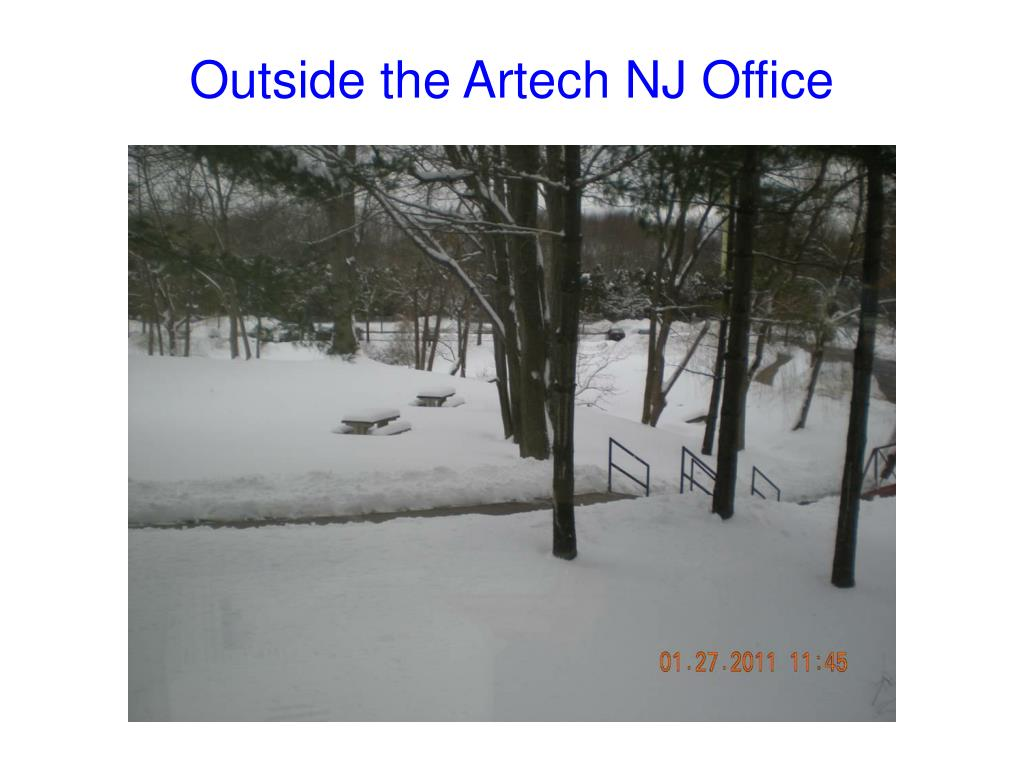 Outside the Artech NJ Office