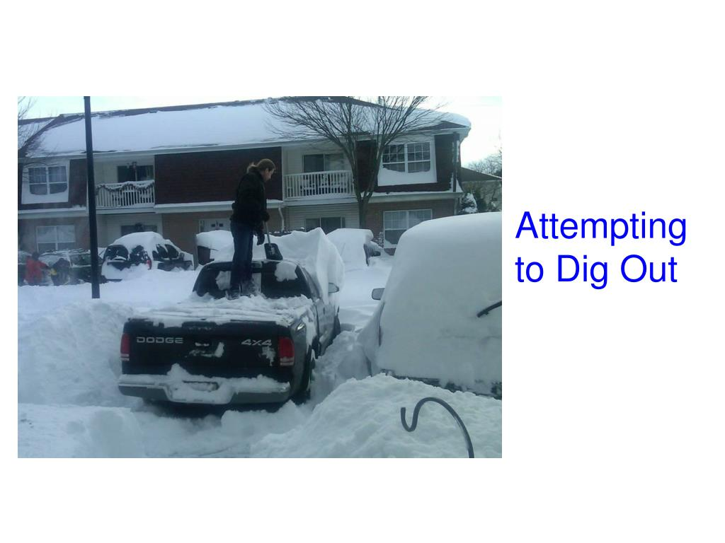 Attempting to Dig Out