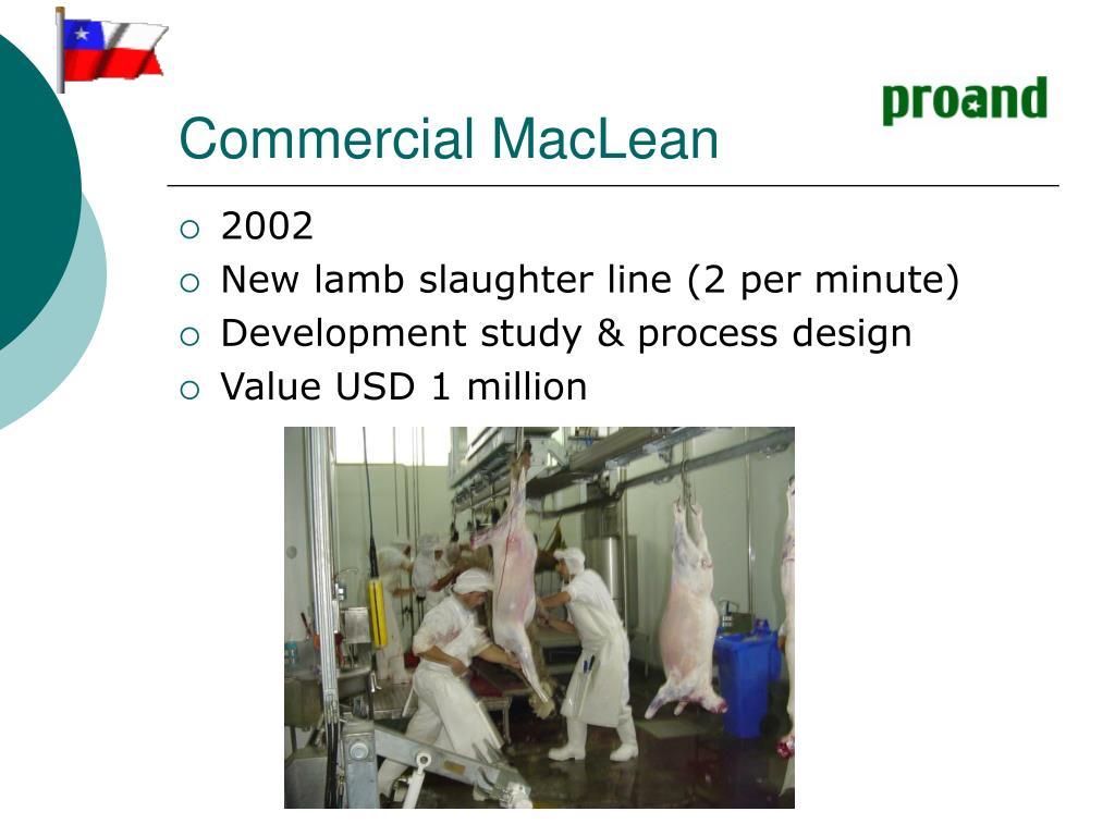 Commercial MacLean