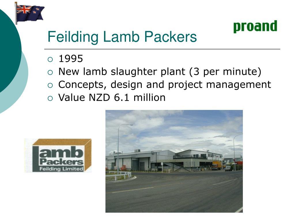 Feilding Lamb Packers