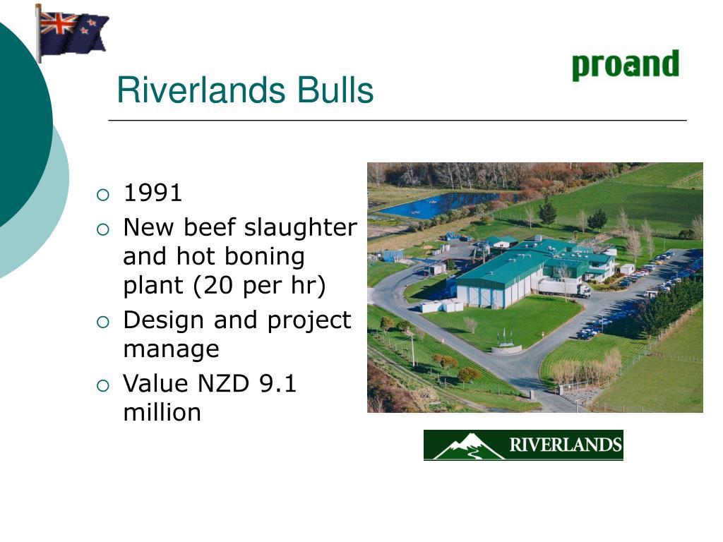 Riverlands Bulls