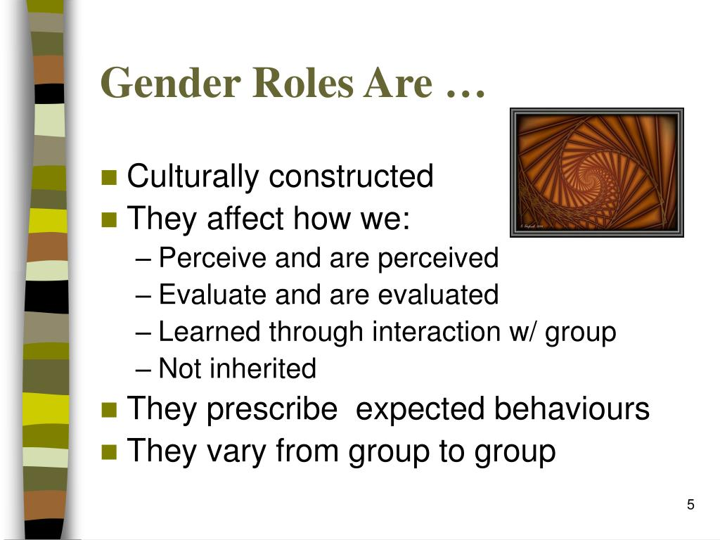 an analysis of gender role and identity 94 5 the dimension of sex role salience in sex role identity 96 6 sex role strain  outcomes 104 7 sex role strain analysis 123 8 comparison of loevinger's.