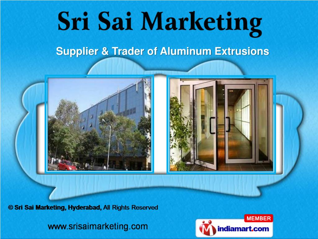 Supplier & Trader of Aluminum Extrusions