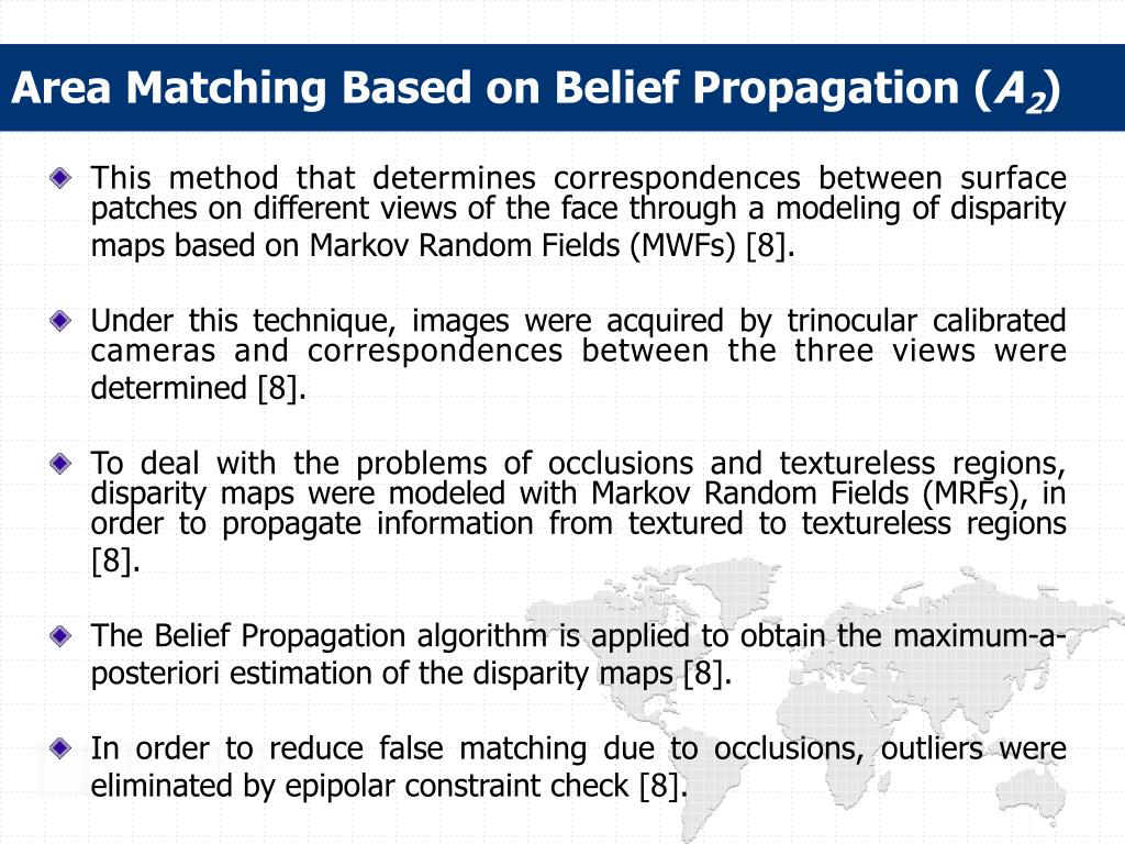 Area Matching Based on Belief Propagation (