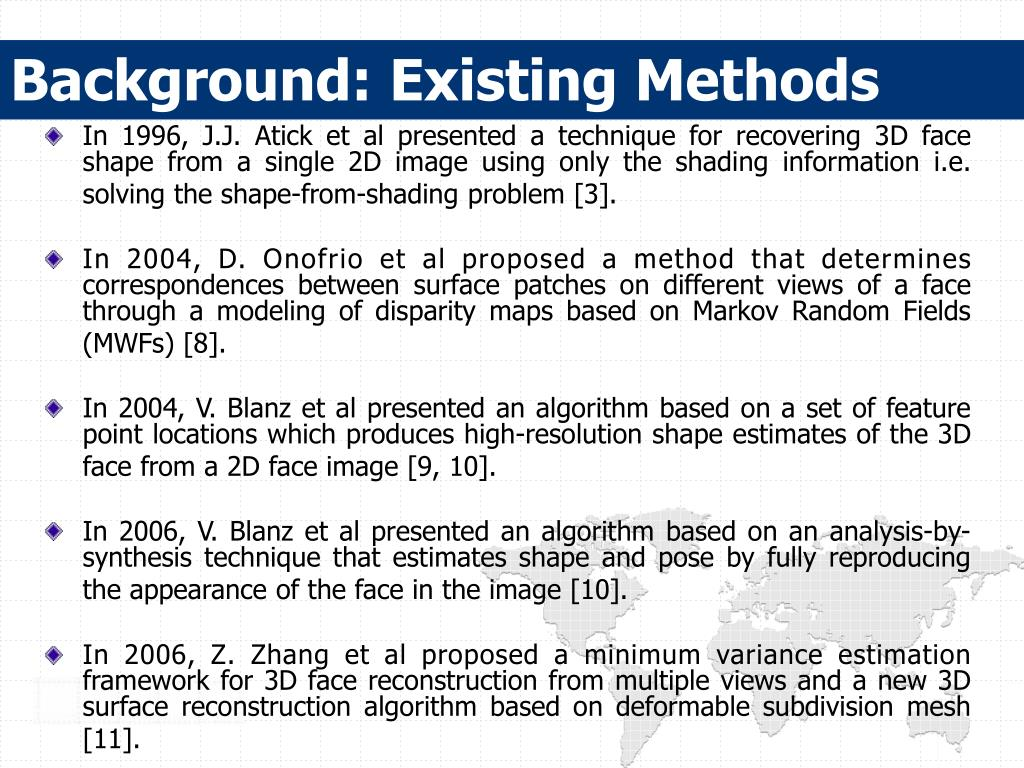 Background: Existing Methods
