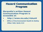 hazard communication program7