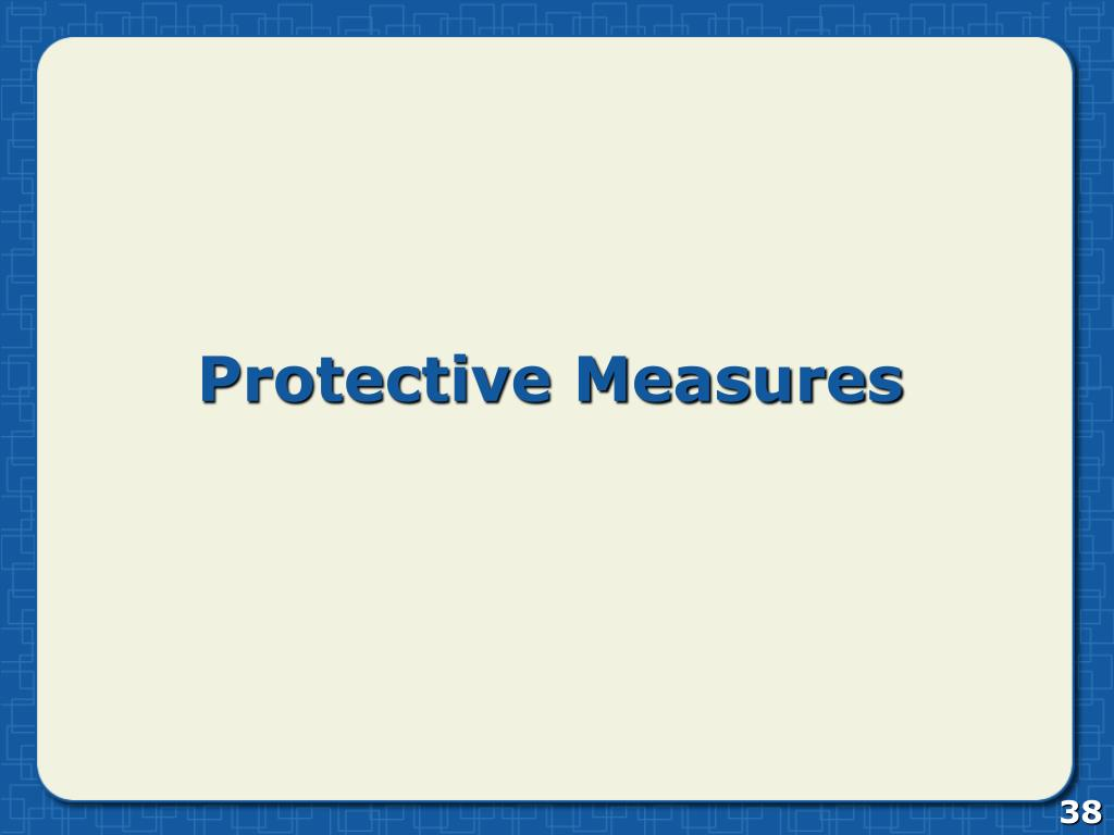 Protective Measures