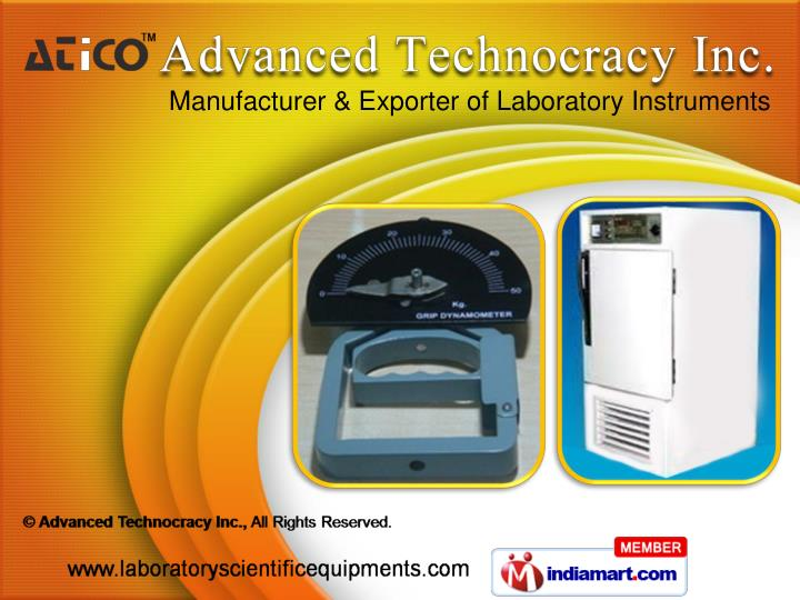 Manufacturer & Exporter of Laboratory Instruments