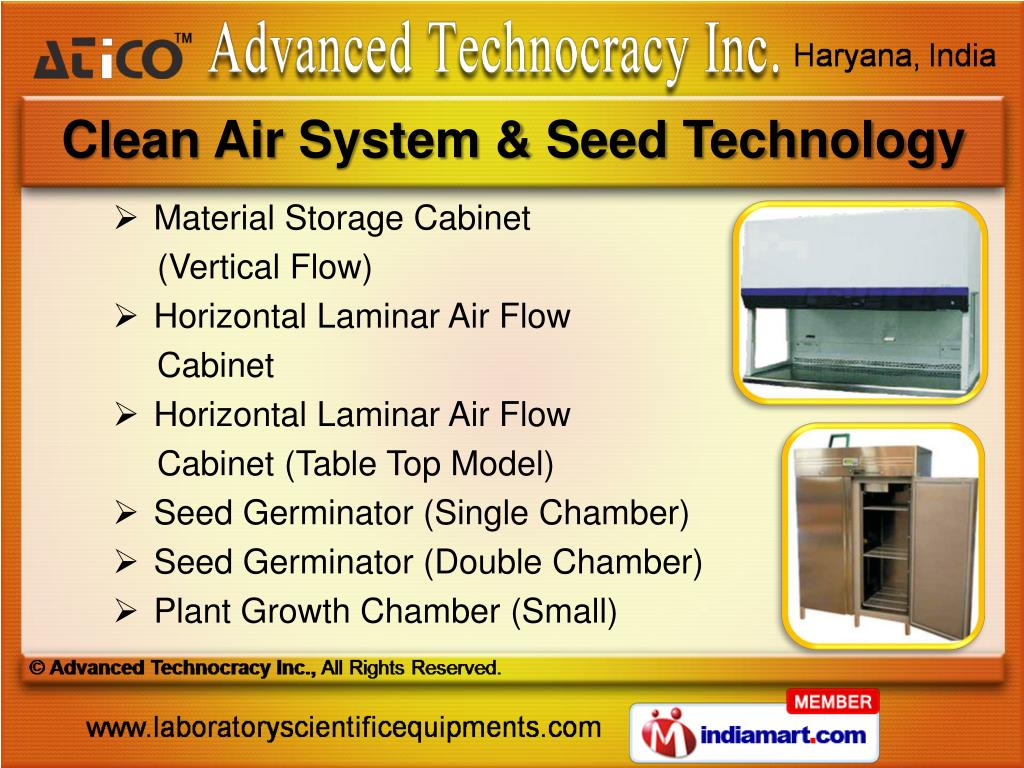 Clean Air System & Seed Technology