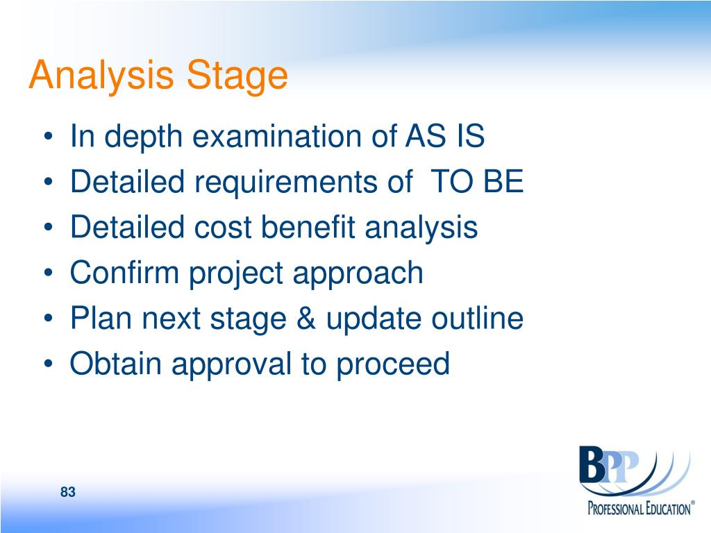 Analysis Stage