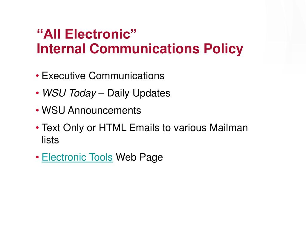 """""""All Electronic"""""""